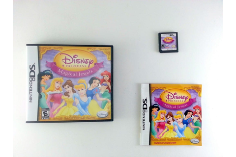 Disney Princess Magical Jewels game for Nintendo DS ...