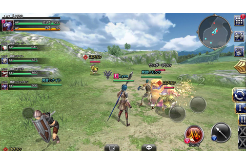 Final Fantasy : Explorers Force - Mobile MMORPG by Square ...