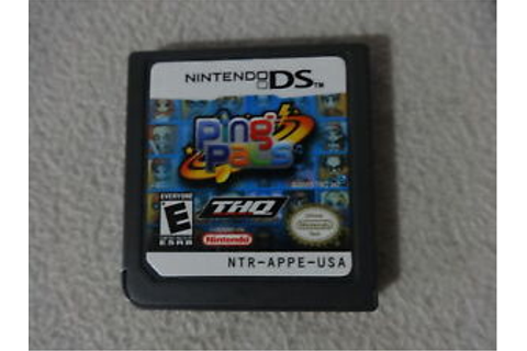 EUC Ping Pals Nintendo DS Video Game Cartridge Only Free ...