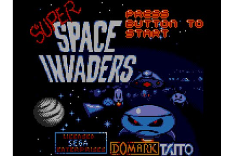 Game Gear Longplay [068] Super Space Invaders - YouTube