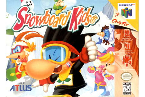 Snowboard kids on N64! : nostalgia