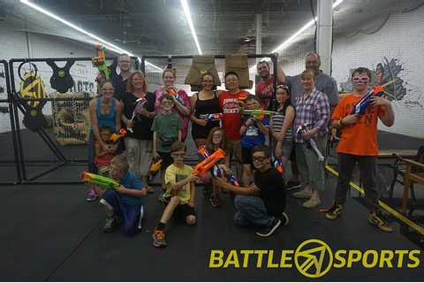 Nerf Gun Battles for ALL AGES! - Picture of Battle Sports ...