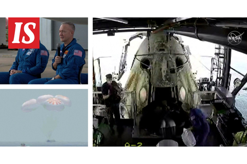 SpaceX astronauts get to Earth safely - video: it looked ...