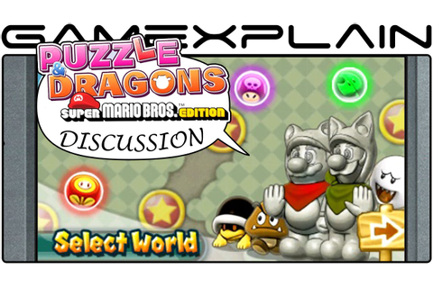 Puzzle & Dragons: Super Mario Bros. Edition - Hands-on ...