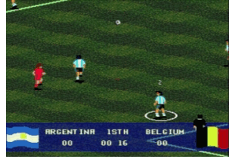 Play Pele's World Tournament Soccer Online - Play Sega ...