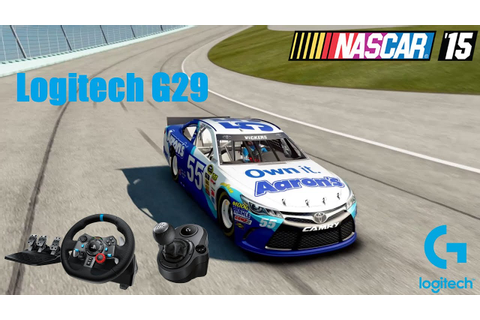 Nascar'15 The Game with Logitech G29 - THIS IS AMAZING ...