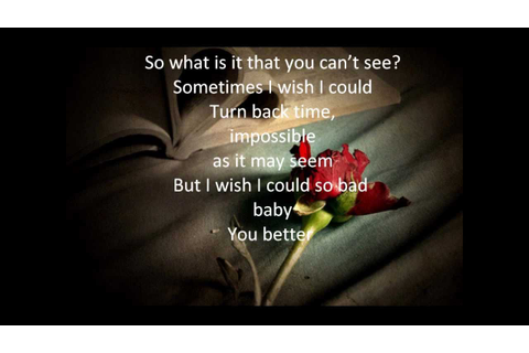 backstreet boys-Quit playing games with my heart lyrics ...