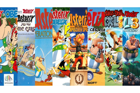 The Evolution of Asterix & Obelix Games - YouTube