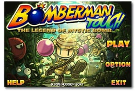 Bomberman Touch: The Legend of Mystic Bomb – TouchArcade