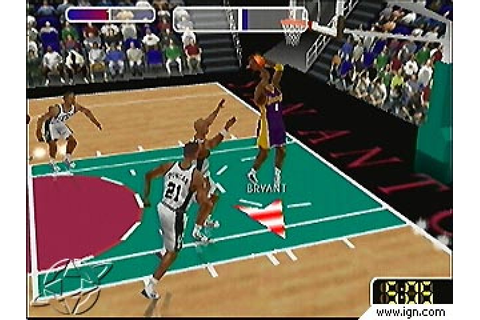 NBA Courtside 2 - Featuring Kobe Bryant (1999) by Left ...