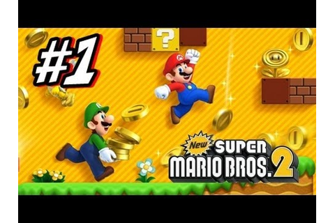 New Super Mario Bros 2 3DS - Part 1 World 1 - YouTube