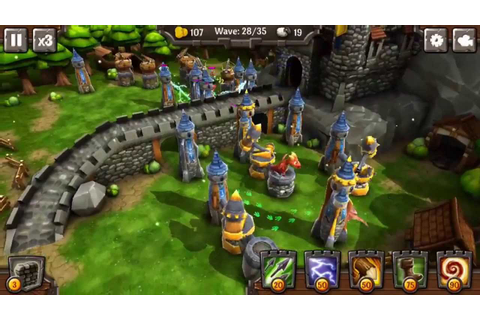 Siegecraft TD - Great 3d Tower Defense game! - YouTube