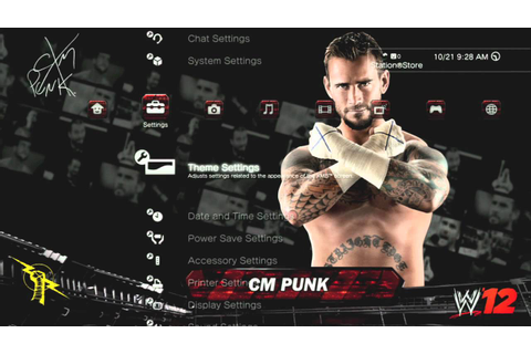 WWE '12 PS3 Dynamic Theme (OFFICIAL) - YouTube