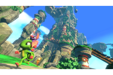 Yooka-Laylee preview: This cheerful platformer's like ...