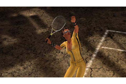 Outlaw Tennis Game | PS2 - PlayStation