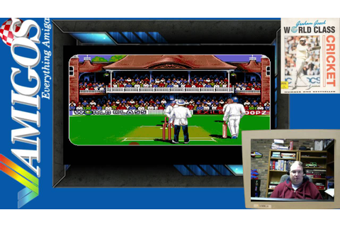 Amigos Plays Graham Gooch World Class Cricket (Amiga ...