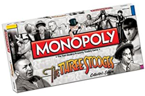 Amazon.com: The Three Stooges Monopoly: Toys & Games