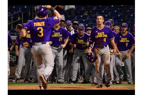 Baseball Championship Game 4 Highlights - East Carolina 14 ...