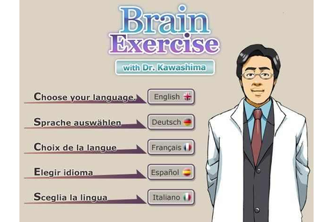 Brain Exercise with Dr Kawashima Download Free Full Game ...