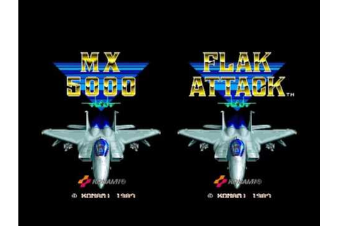 MX5000/Flak Attack (Arcade Music) 02 Counter Blow [Stage 2 ...