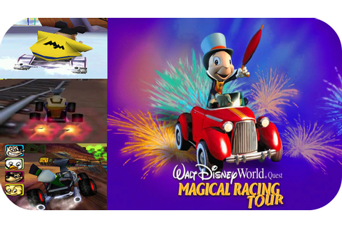 Walt Disney World Quest Magical Racing Tour - Gameplay PS1 ...