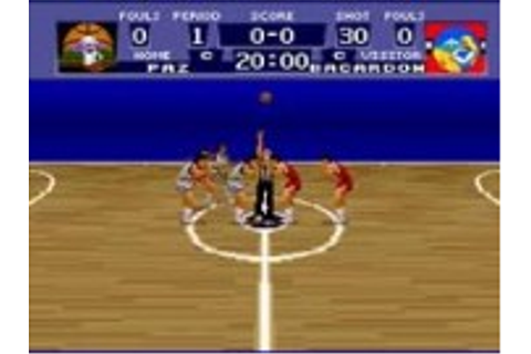 World League Basketball - Super Nintendo (SNES) Game