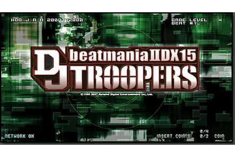 beatmania IIDX 15 DJ TROOPERS arcade video game by Konami ...