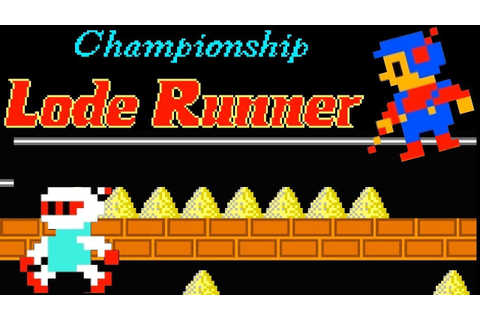 Championship Lode Runner (FC) | Playthrough - YouTube