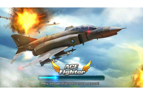 #game android offline game ace fighter android - YouTube