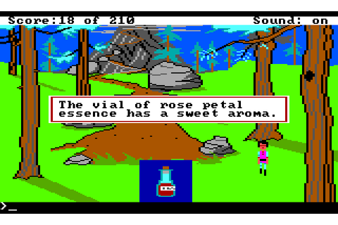 King's Quest III: To Heir is human (1988) by Sierra On ...