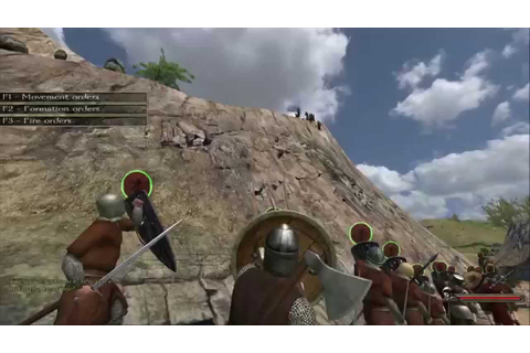 Mount and Blade Warband Demo Gameplay - YouTube