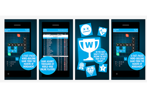 Microsoft's Snap Attack word-building game will stretch ...