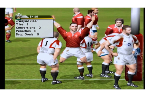 Rugby Challenge 2006 - Xbox Gameplay - YouTube
