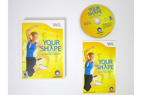 Your Shape game for Wii (Complete) | The Game Guy