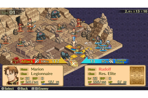 Mercenaries Saga Chronicles For Switch Receives Physical ...