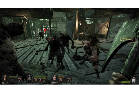 Warhammer: End Times Vermintide Xbox One Gameplay Footage ...