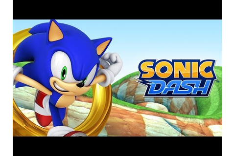 Sonic Dash Game Play - YouTube