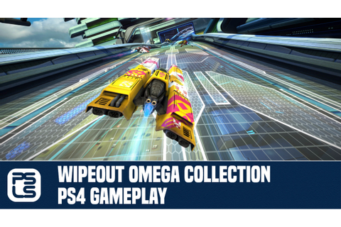 Wipeout Omega Collection PS4 Gameplay - YouTube