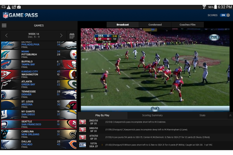 NFL Game Pass - Android Apps on Google Play