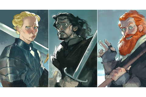 Fine Art: If Game Of Thrones Was A Cartoon | Kotaku Australia