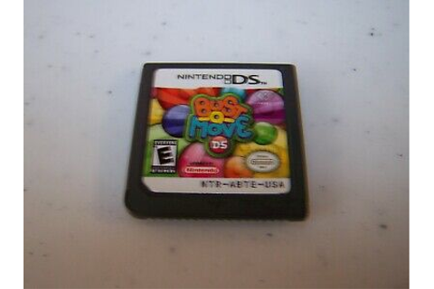 Bust-A-Move DS Nintendo DS Lite DSi XL 3DS 2DS Game ...