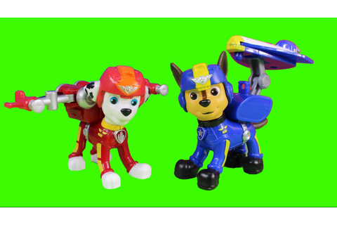 Paw Patrol Air Rescue Team With Marshall Zuma Skye Chase ...