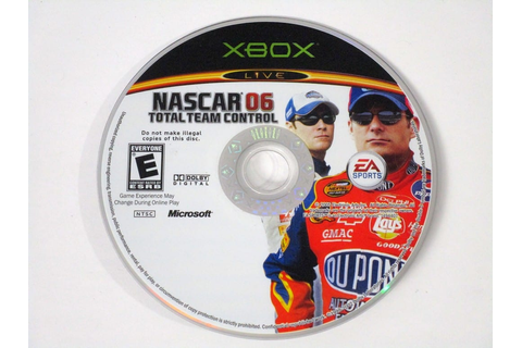 NASCAR 06 Total Team Control game for Xbox (Loose) | The ...