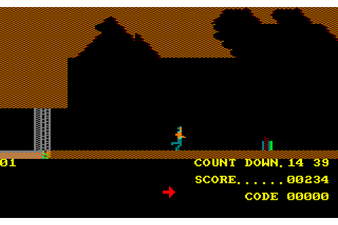 A View to a Kill: The Computer Game (1985) Amstrad CPC game