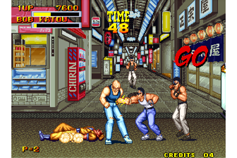 Play Burning Fight SNK NEO GEO online | Play retro games ...