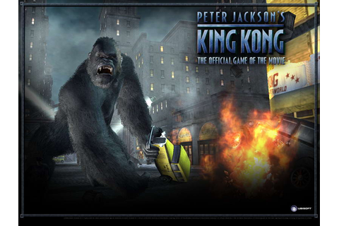 King Kong ( PC,PS2, PSP, Xbox, Xbox360, GC,GBA,DS ), hra ...