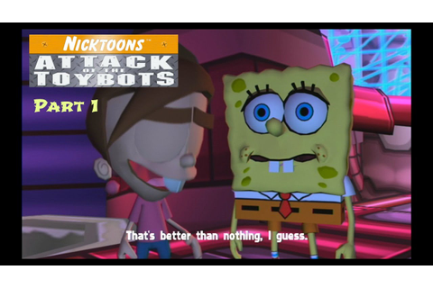 Nicktoons Attack of the Toybots Part 1: Who Who Powers ...