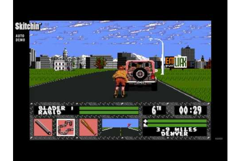 Skitchin' / auto demo / Sega Genesis 1994 - YouTube
