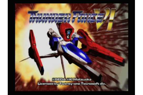 Classic Game Room HD - THUNDER FORCE 6 VI review part 2 ...