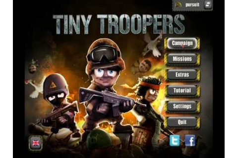 Tiny Troopers PC Gameplay 1.Mission - YouTube